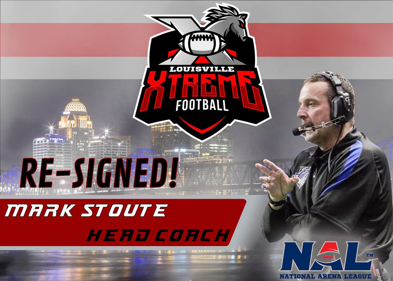 Louisville Xtreme Re-Sign Head Coach Mark Stoute