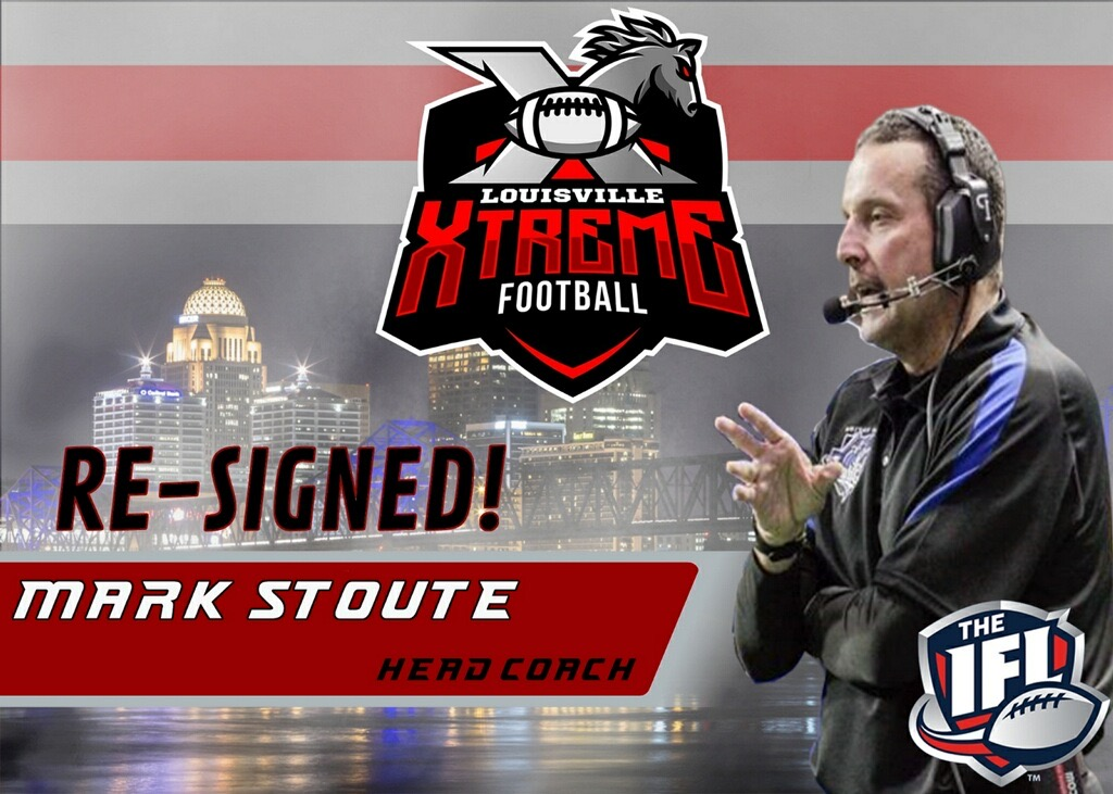 Louisville Xtreme Re-Sign Head Coach Mark Stoute
